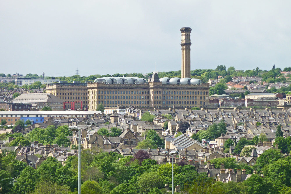 Photo: Lister Mills, which was the largest silk factory in the world is mentioned in Caiomhe's poem