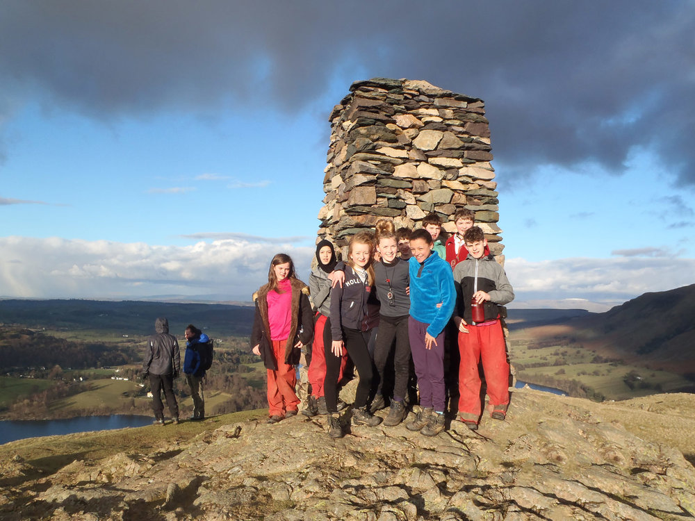 Photo: Year 8 Ullswater Residential 2016