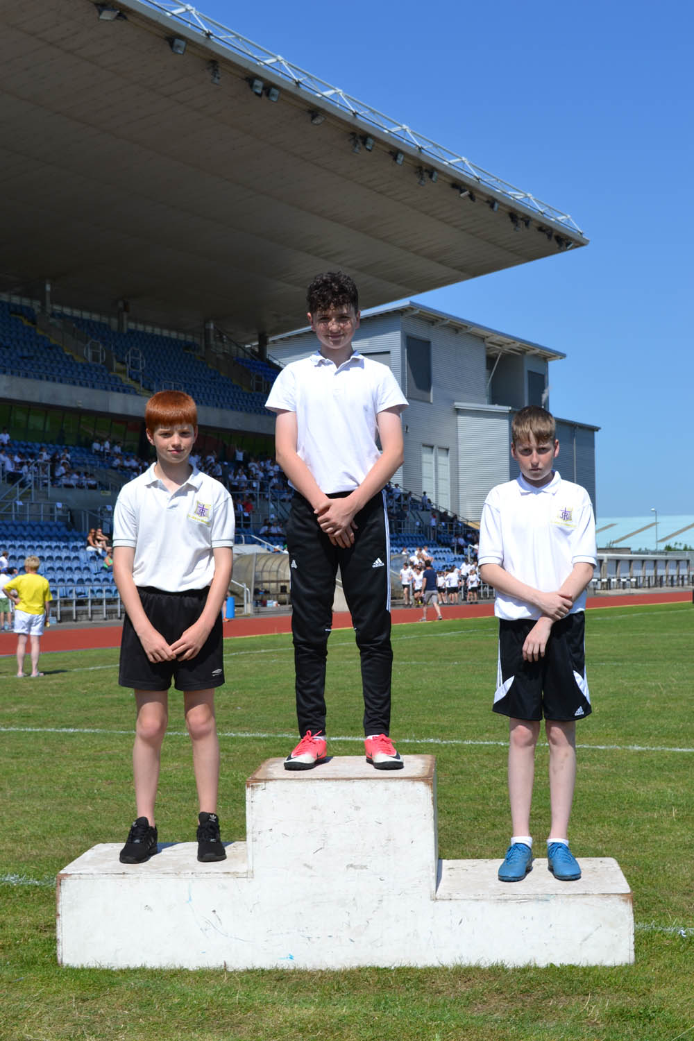 Year 8 Boys Long Jump