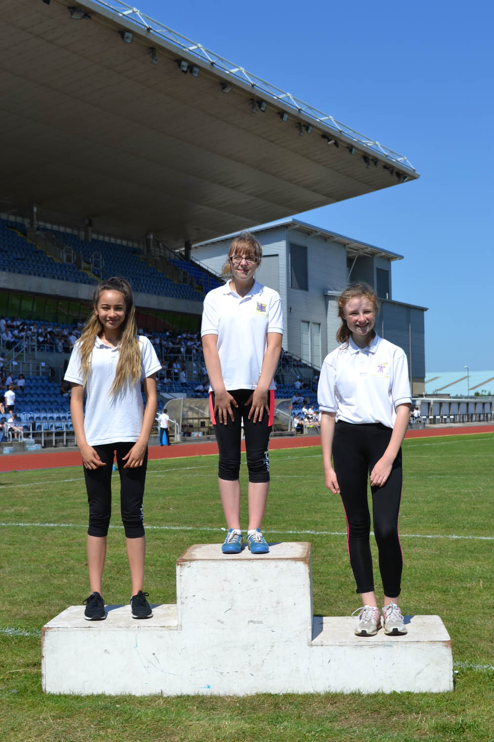 Year 8 Girls Long Jump