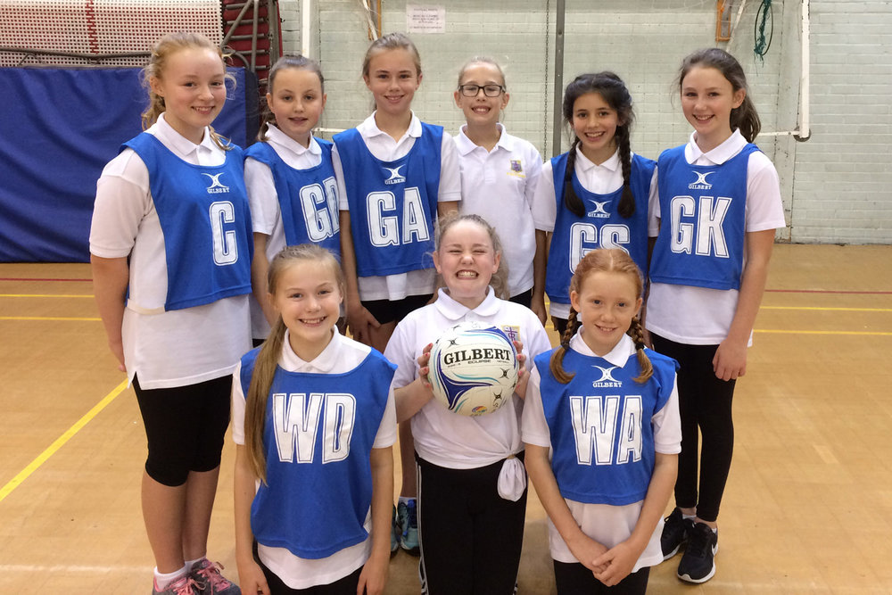 Year 7 Girls U12 Netball Team 2017–18, 30th September 2017