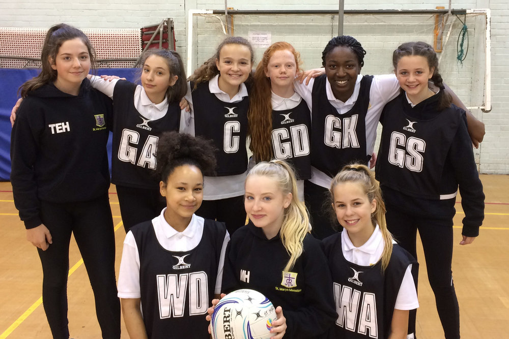 Year 8 Girls U13 Netball Team 2017–18, 30th September 2017