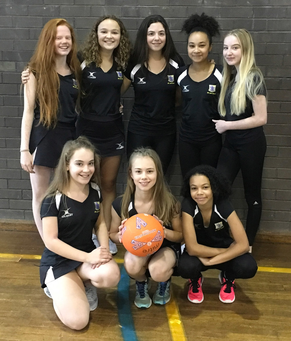 Photo: Back Row: Eva Curran, Rachel McCormack, Tilly Heath, Eve Midgley, Millie Helliwell  Front Row: Carys Delahay, Esme Astbury, Amelia Kiwomya