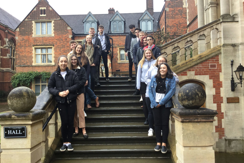 Photo: Our Sixth Formers gained a great deal of information and enjoyed the Visit