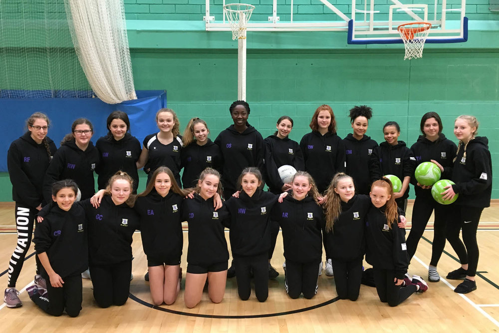 St. Mary's Netballers