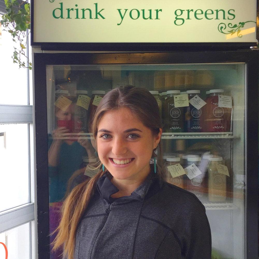 Kayla, juicologist