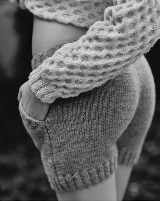 itsukadokoka: Knitted Shorts - Roboty Ręczne oh my…knitt-y dreams…i love these!