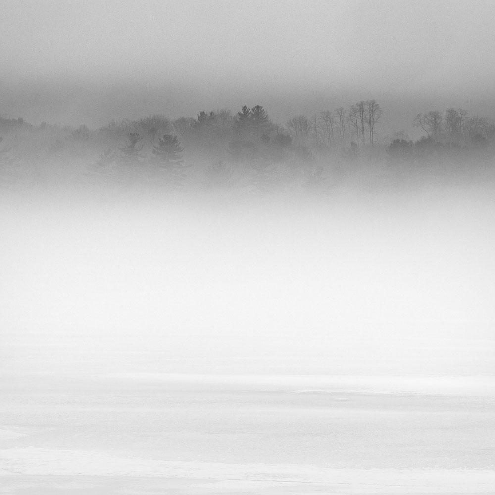 fog and ice, Stockbridge Bowl