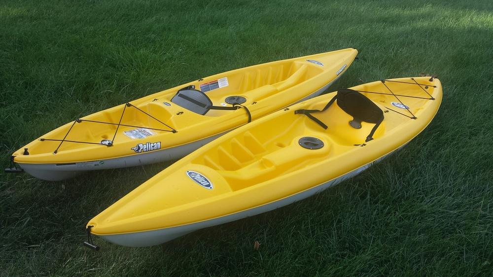 2 of our Sit-On Kayaks
