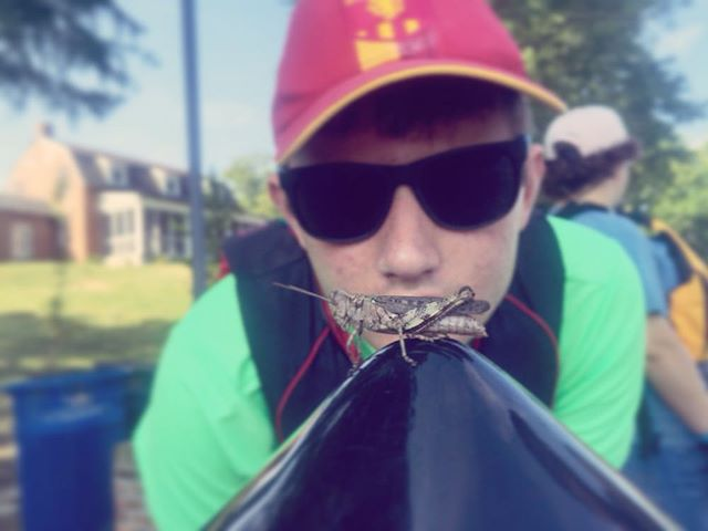 In time Young Grasshopper, in time #tbt #Summer2016 #SailingCamp #Annapolis