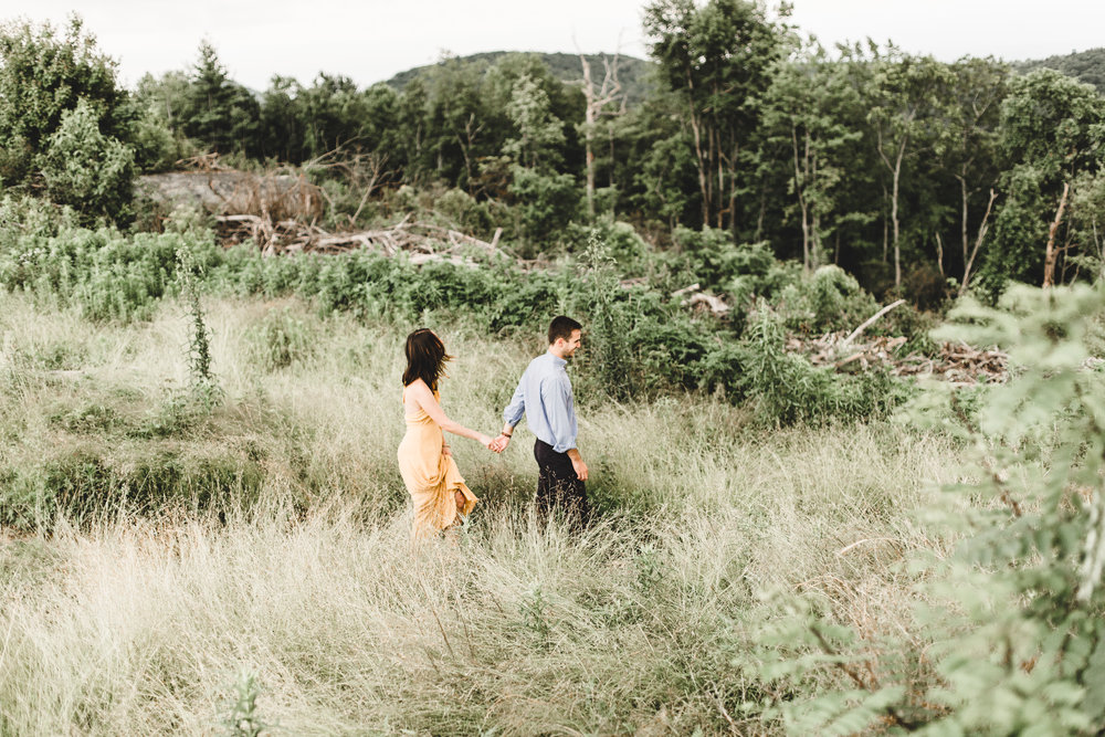 Neal + Brittany - Sassafras Mountain Engagement Session