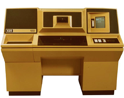 KLA 100 machine