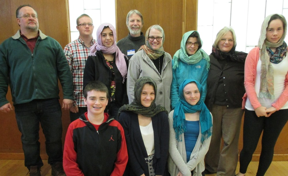 Middle-schoolers visit the Islamic Society of Greater Worcester,