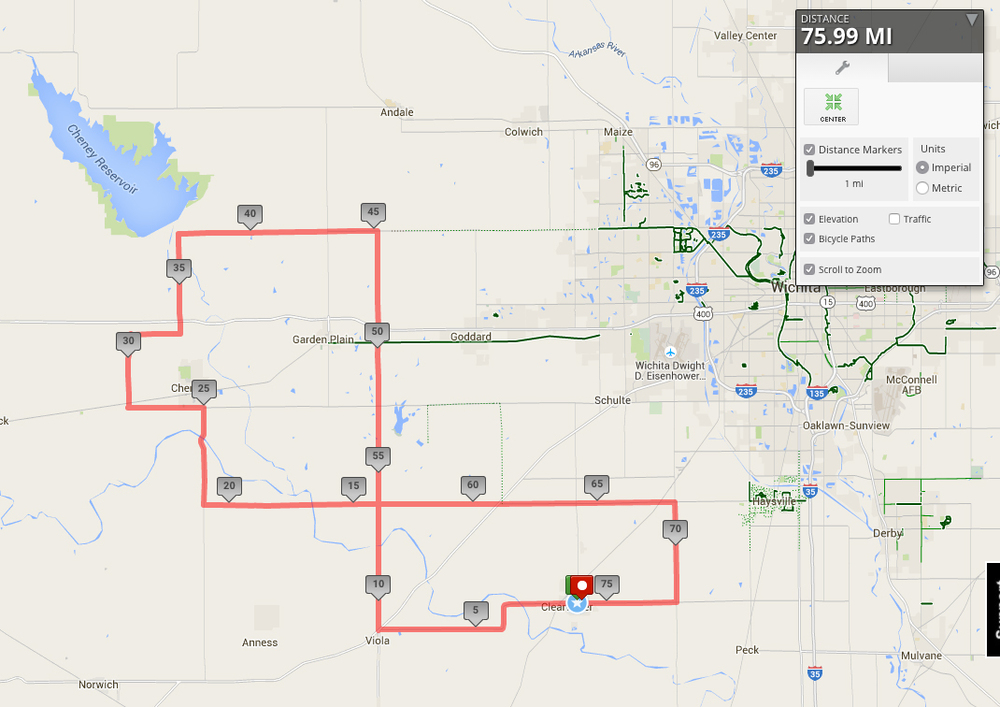 heathersride 75 mile routes