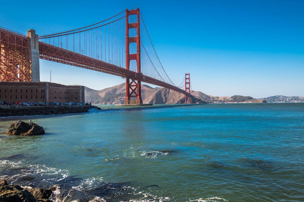 Golden gate bridge tour