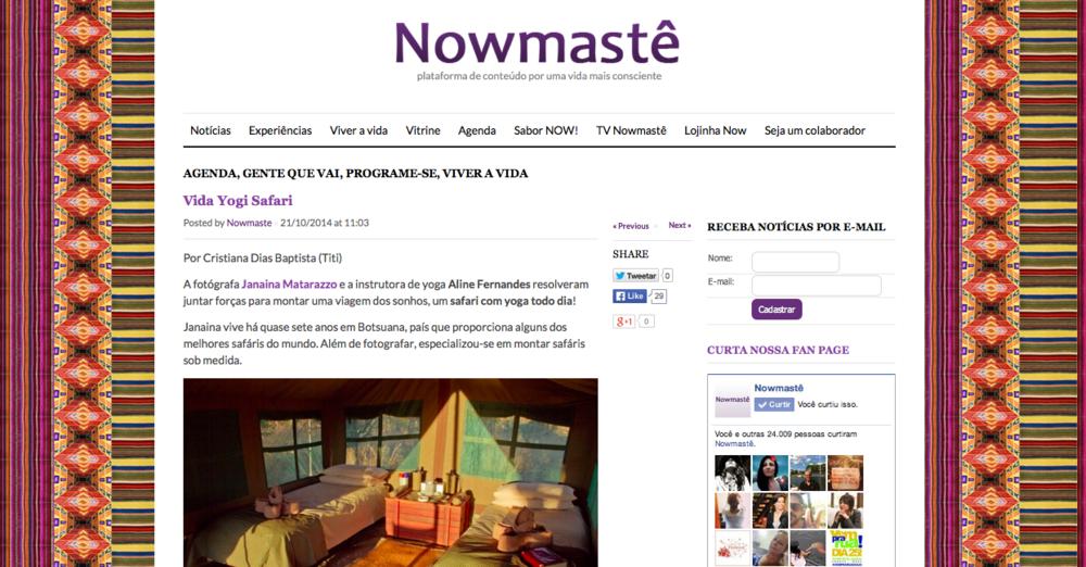 Nowmaste