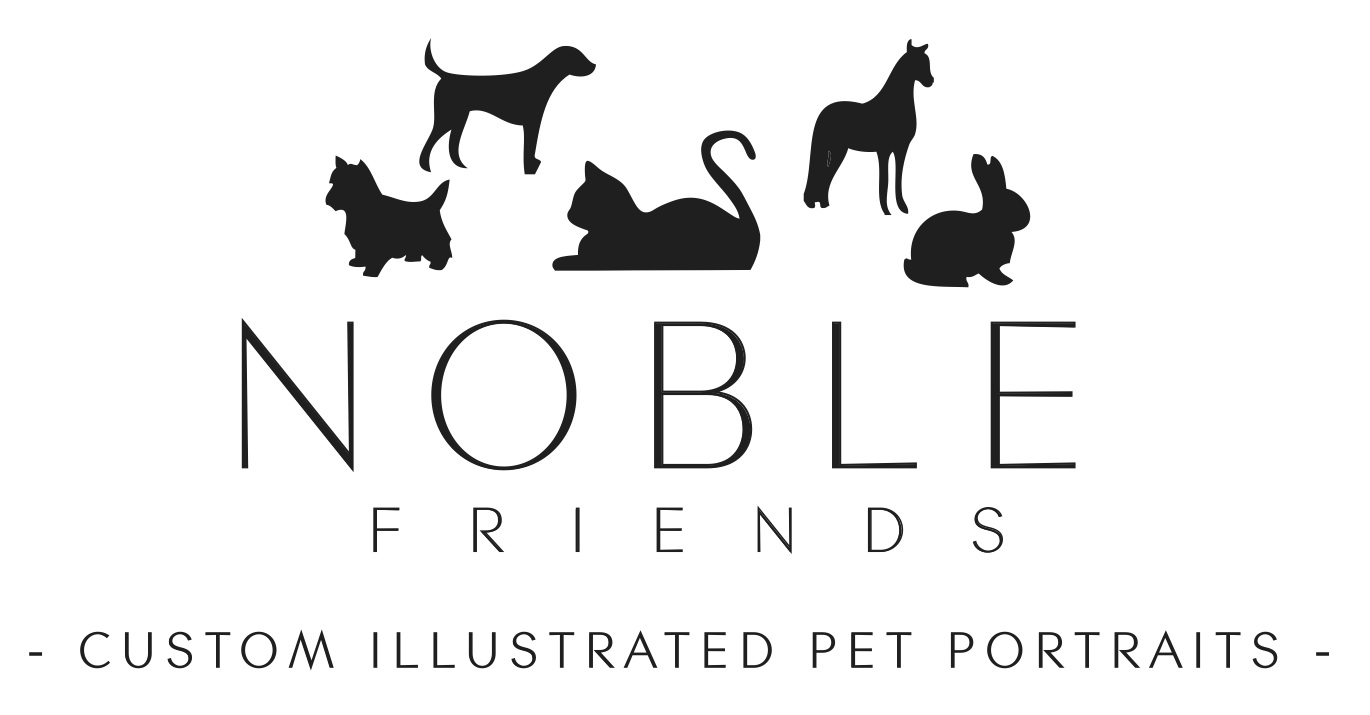NOBLE FRIENDS SHOP | CUSTOM PET PORTRAITS