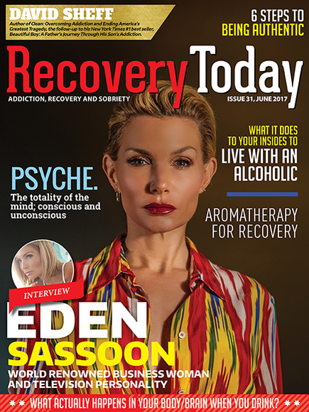 Recovery Today Magazine cover with Eden Sassoon