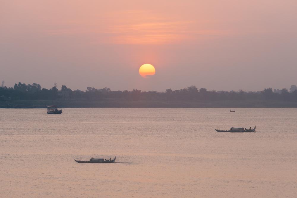 Sunrise Over Phnom Penh