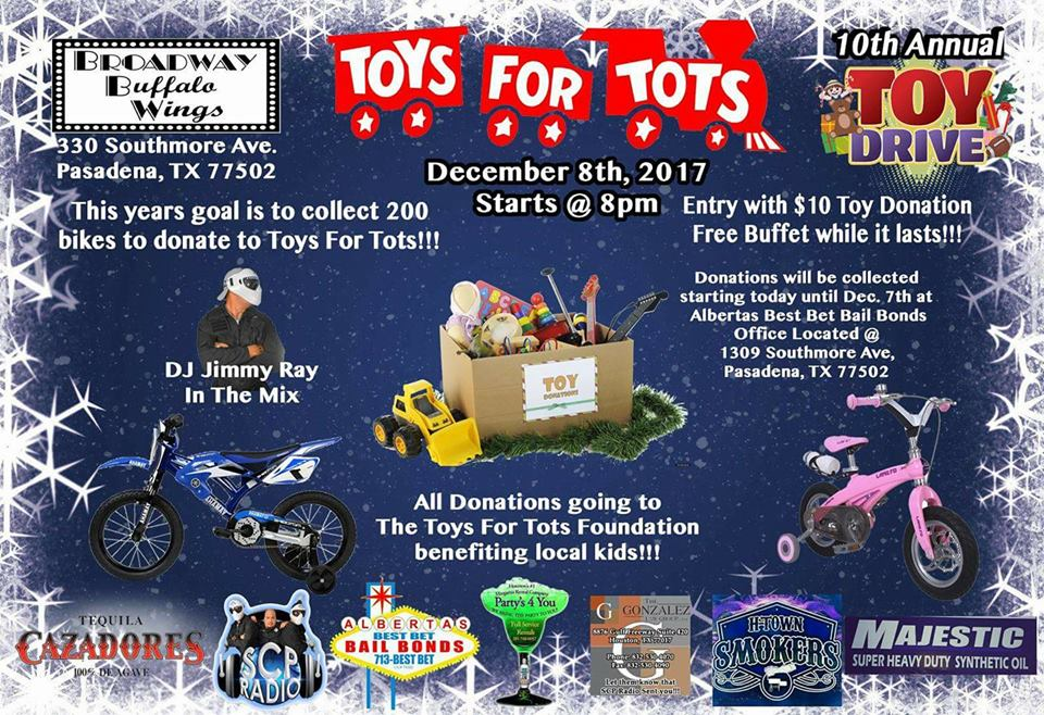 Toys For Tots — SCP Radio Network