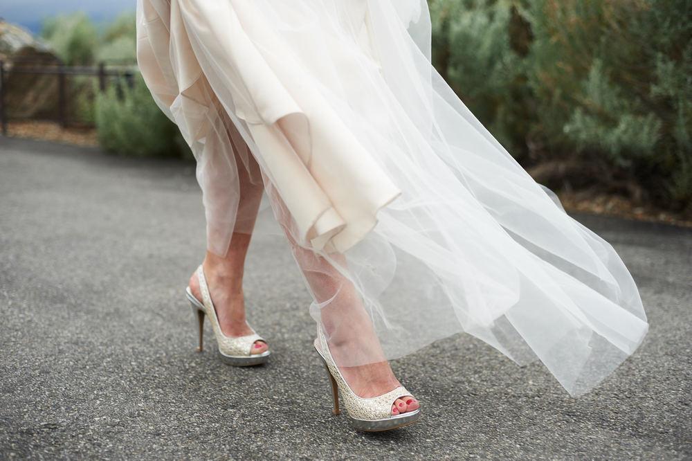 the brides walk