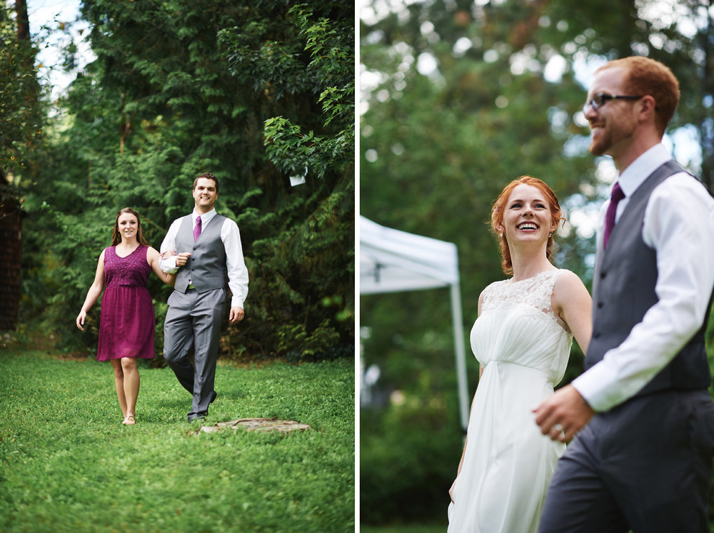 bridesmaid-and-groomsmen-arriving-at-backyard-reception-in-peachland.jpg