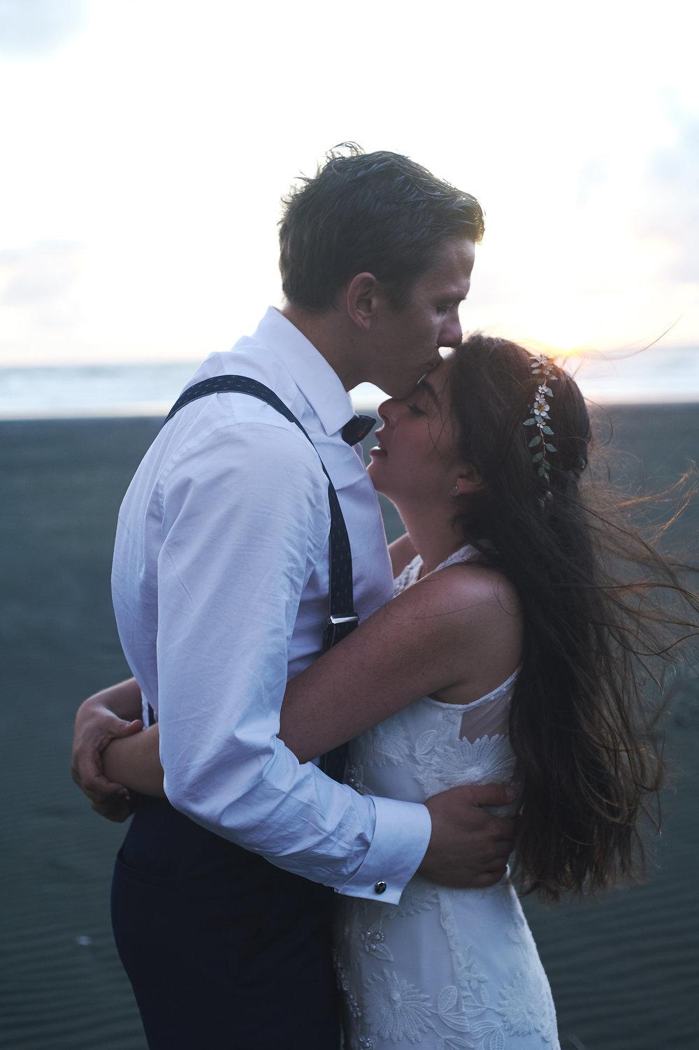 Maksim and Javiera Honeymoon