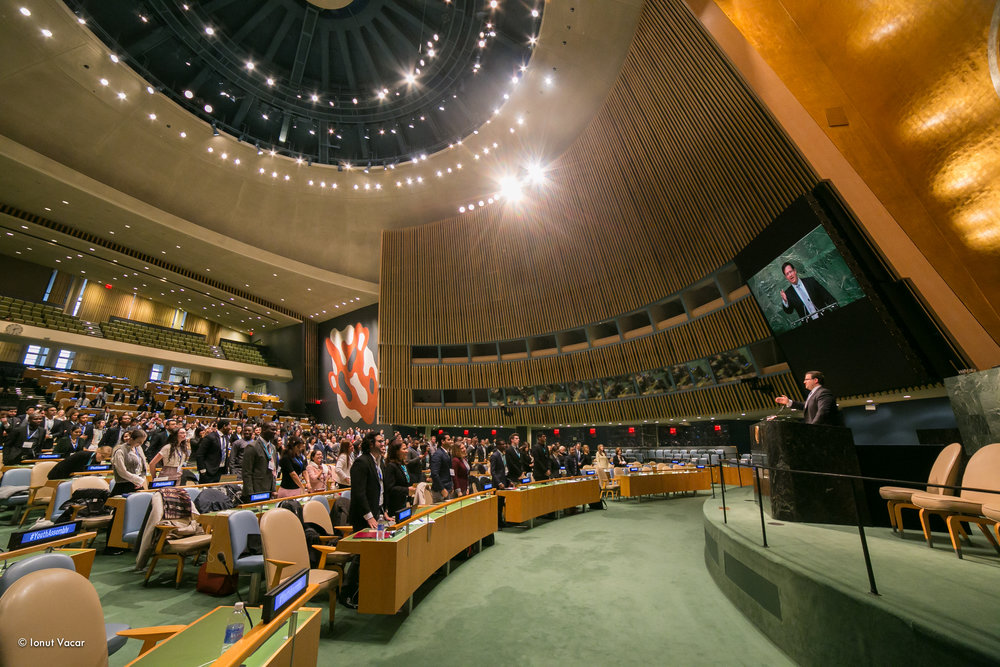 Photo: 2016 Winter Youth Assembly at the UN