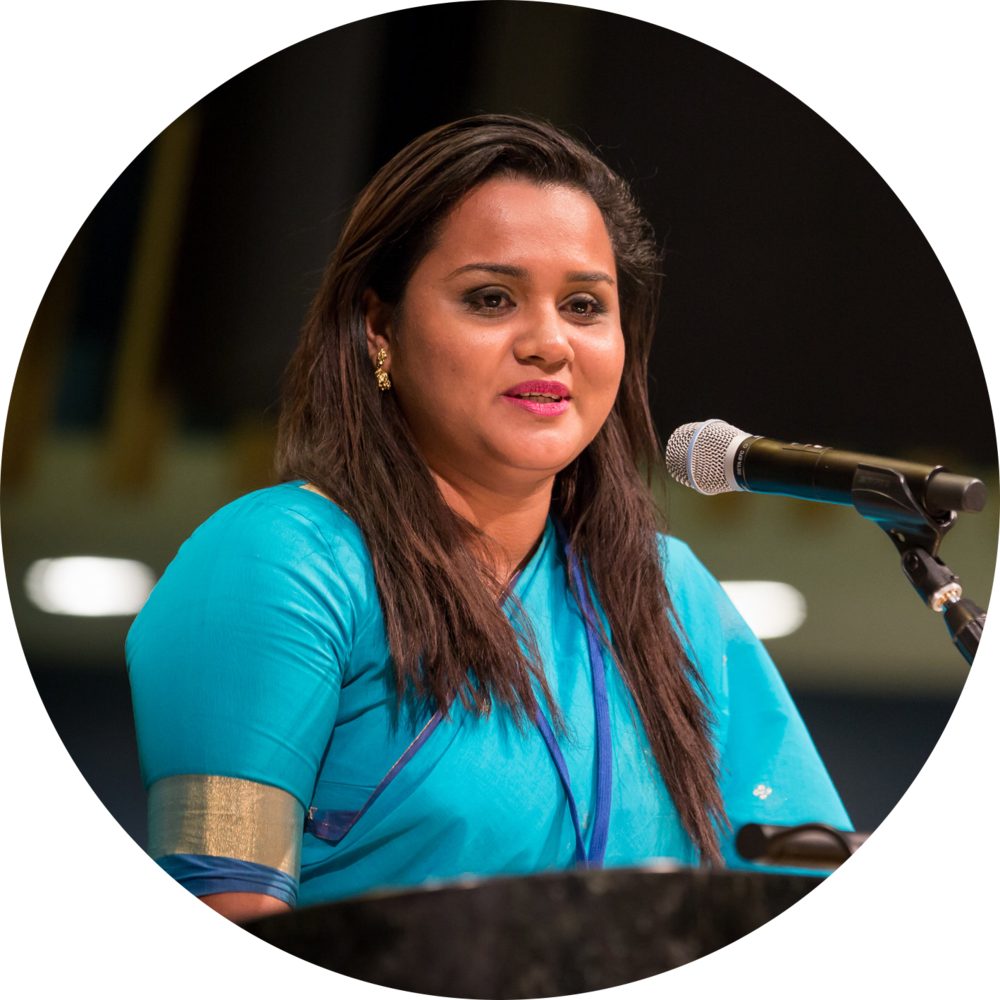 Jayathma Wickramanayake,  UN Youth Envoy