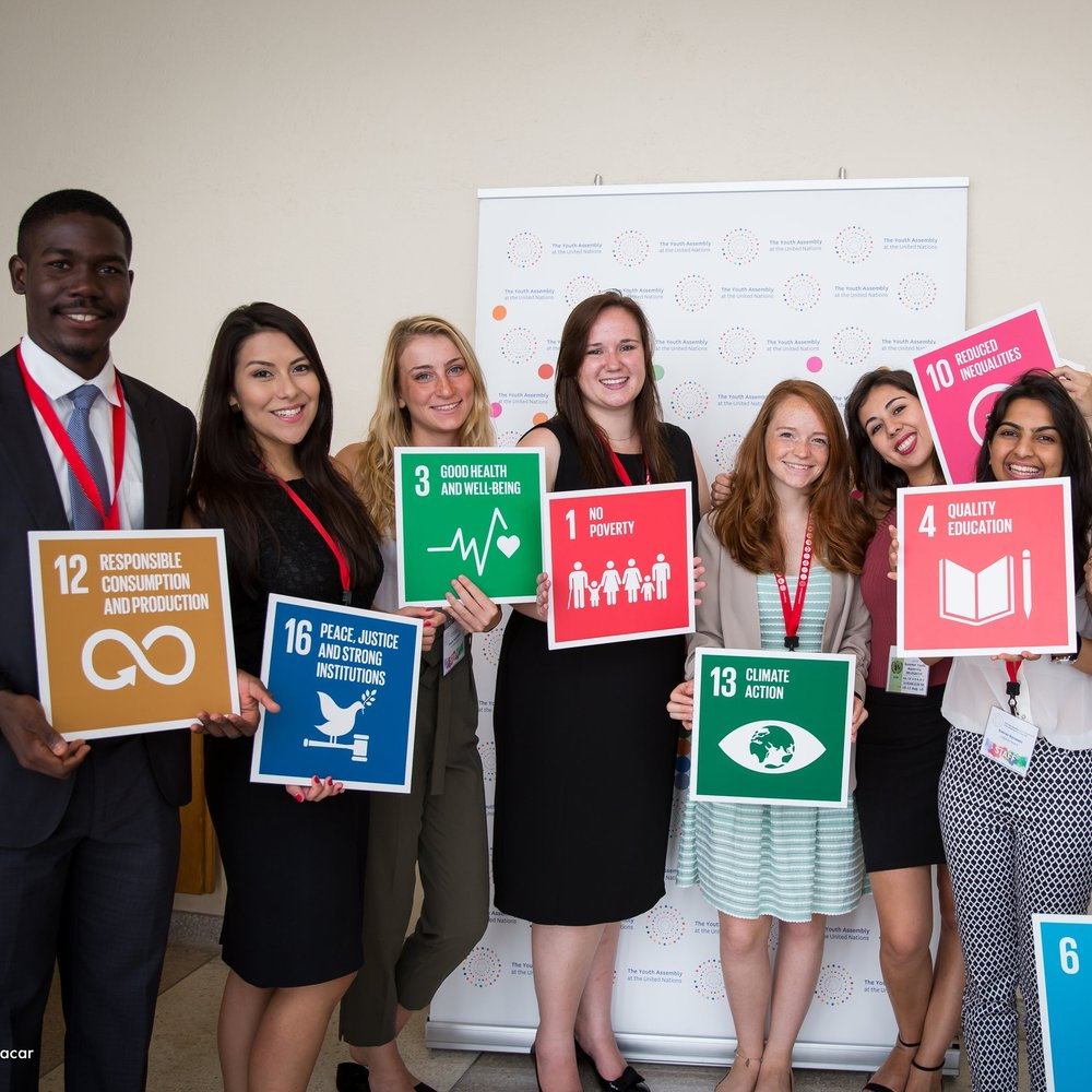 Create game-changing solutions for the SDGs - Learn more about The Youth Assembly Impact Challenge →