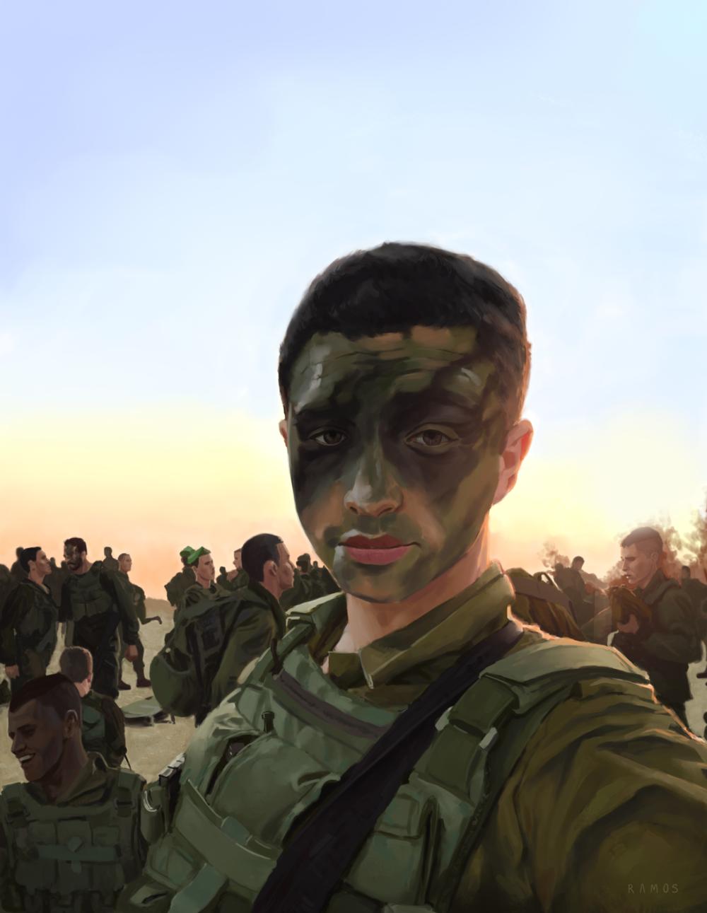 """Sunrise on Sgt. Kokia"" by Ruben Ramos"