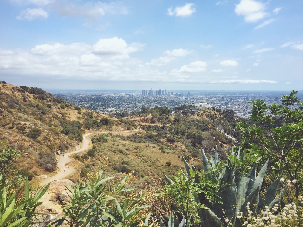 Los Angeles Hiking Tour 1