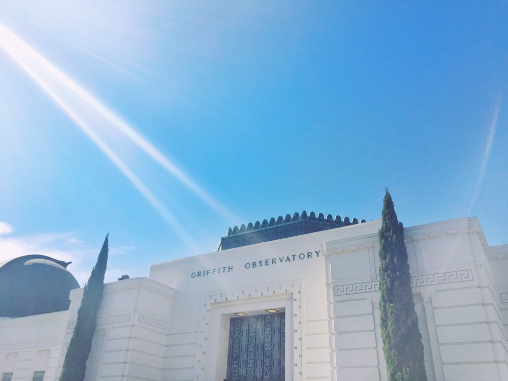 Griffith Observatory Hike 1