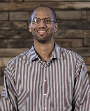 """Marques Jones Associate Pastor marquesj@crosswayc.org 1. My job is to lead the Community Ministries portion of LIVE. 2. I like the song """"Fear"""" by Lecrae. 3. For fun, I like playing princess Monopoly with my daughters."""