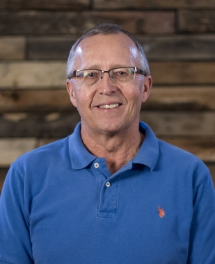 """Ken Stenfors Chaplain kens@crosswayc.org 1. My role is to visit and pray with people that are about to have surgery or are hospitalized. 2. """"Creed"""" by Third Day is a favorite of mine. 3. In my spare moments, I really enjoy riding our motorcycle with my wife."""