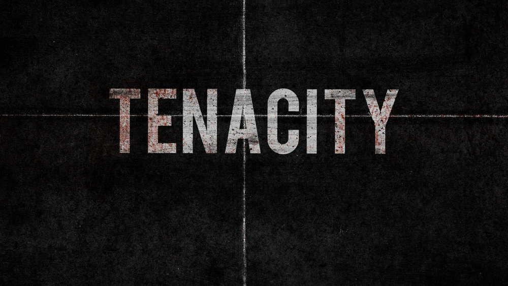 TENACITY Tenacity: The quality of being tenacious, or of holding fast; persistence. There has never been anyone more tenacious than Jesus Christ in the final days before his crucifixion. Friends and family abandoned him. Followers misunderstood and betrayed him. The political powers and religious authorities tried to eliminate him. And yet, in the face of unfathomable opposition, Jesus—in obedience to his Heavenly Father—took the hit for every single one of us on the cross, eventually conquering the grave. Understanding Jesus' tenacity in his last days will transform our perspective and empower us to face whatever trials we experience in this life, ultimately preparing us for our final challenge: facing death itself.