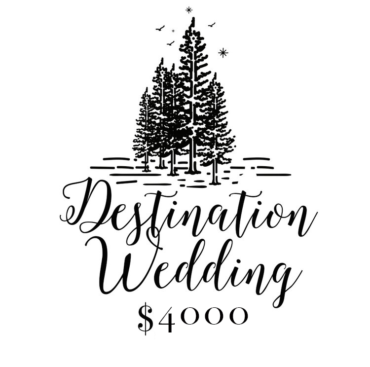 All Travel Included // 10 Hours Coverage  // All the Details - Getting Ready - First Look - Portraits - Ceremony & Reception - Farewell - 2 Professional Photographers