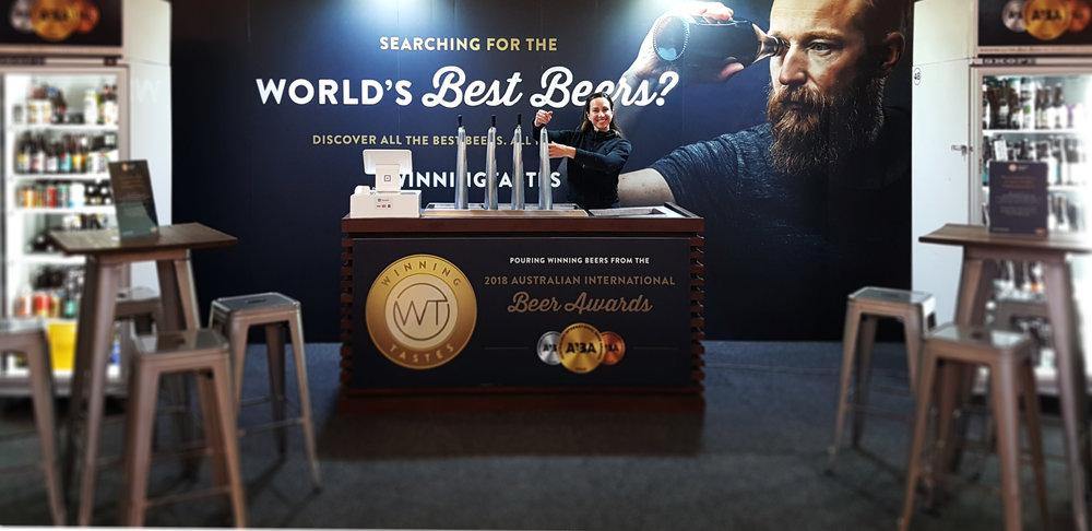 Great Australian Beer Spectapular Winning Tastes AIBA Activation