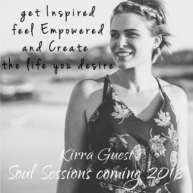 I'm so excited for the endless possibilities in 2018. Soul Sessions coming at you 💖  #inspireempowercreate #returningtowork #2018