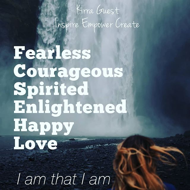 I am that I am 👐👐👐💖💖💖 #spirituallyfierce  #affirmations #inspireempowercreate #dailygrind