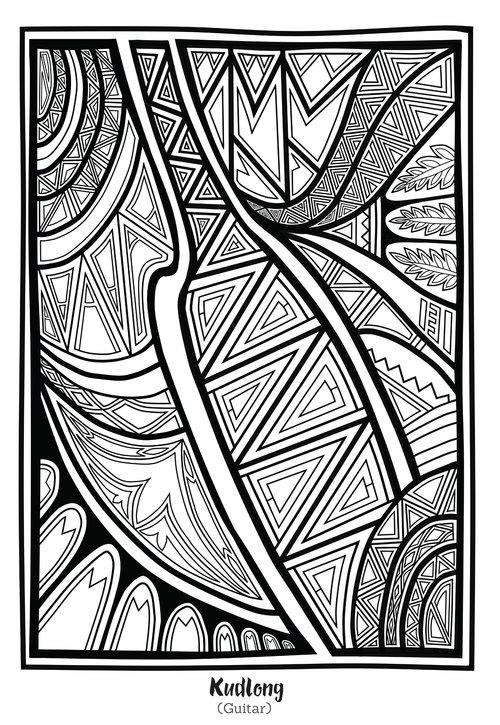 Lumad Coloring Book — Salupongan International