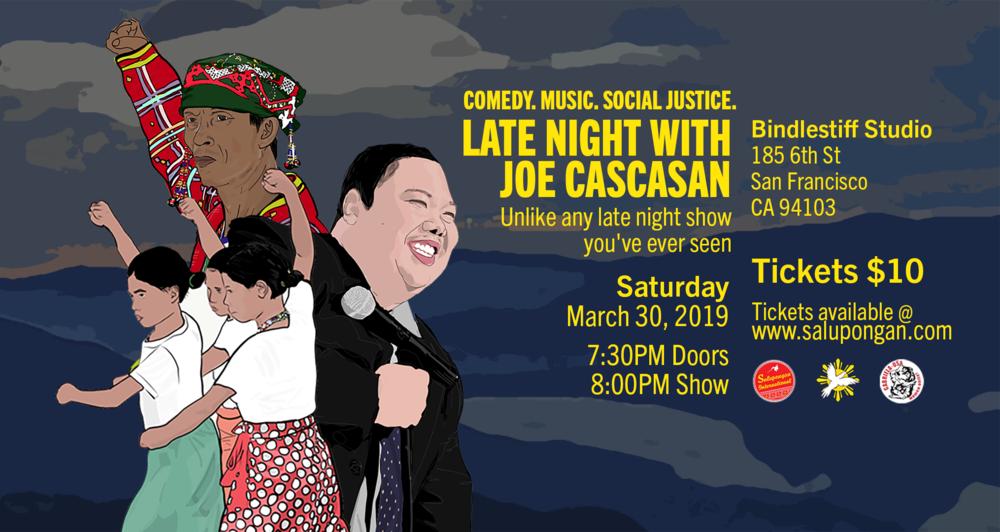 Late Night with Joe Cascasan 2019