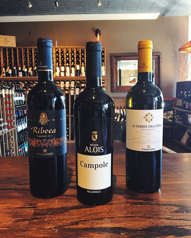 Tasting today 4-8pm. Wines from Southern Italy will transport you to warmer weather.  #sicily #campania #wineoftheday #winetasting