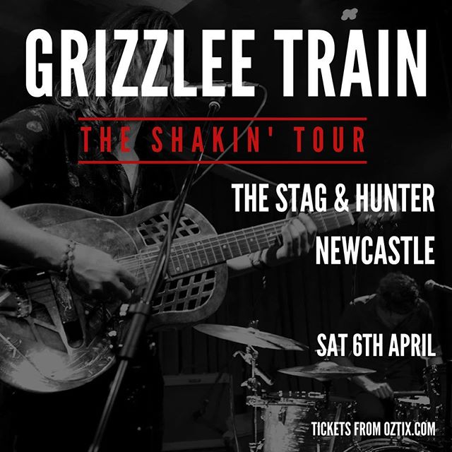 Kicking off the Shakin' tour this Saturday night at The Stag & Hunter! We're so pumped we just peed a little. Get your tickets now! @stagandhunter #shakin #single #tour #newcastle