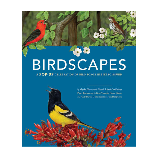 BIRDSCAPES   Chronicle Books  Sonoran Desert and Great Plains spreads