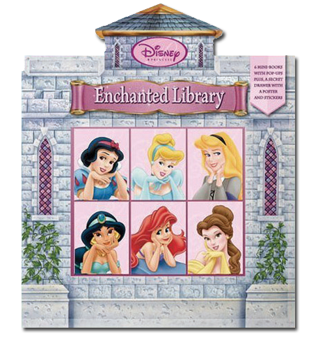 DISNEY PRINCESS: ENCHANTED LIBRARY   Disney Press