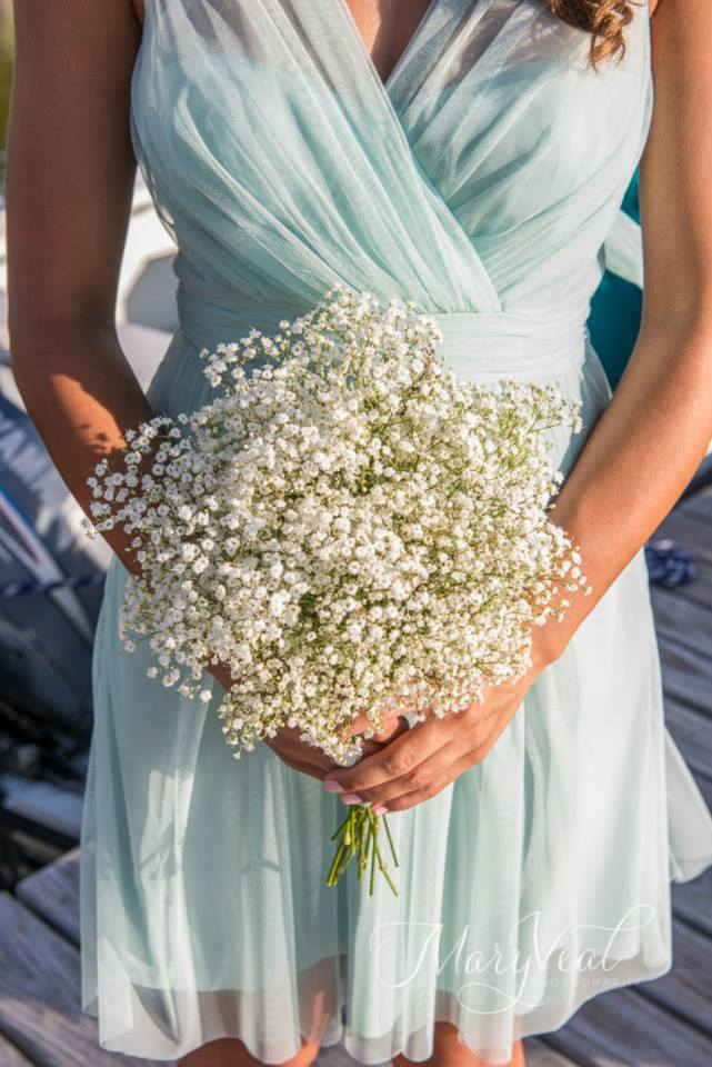 dress babys breath