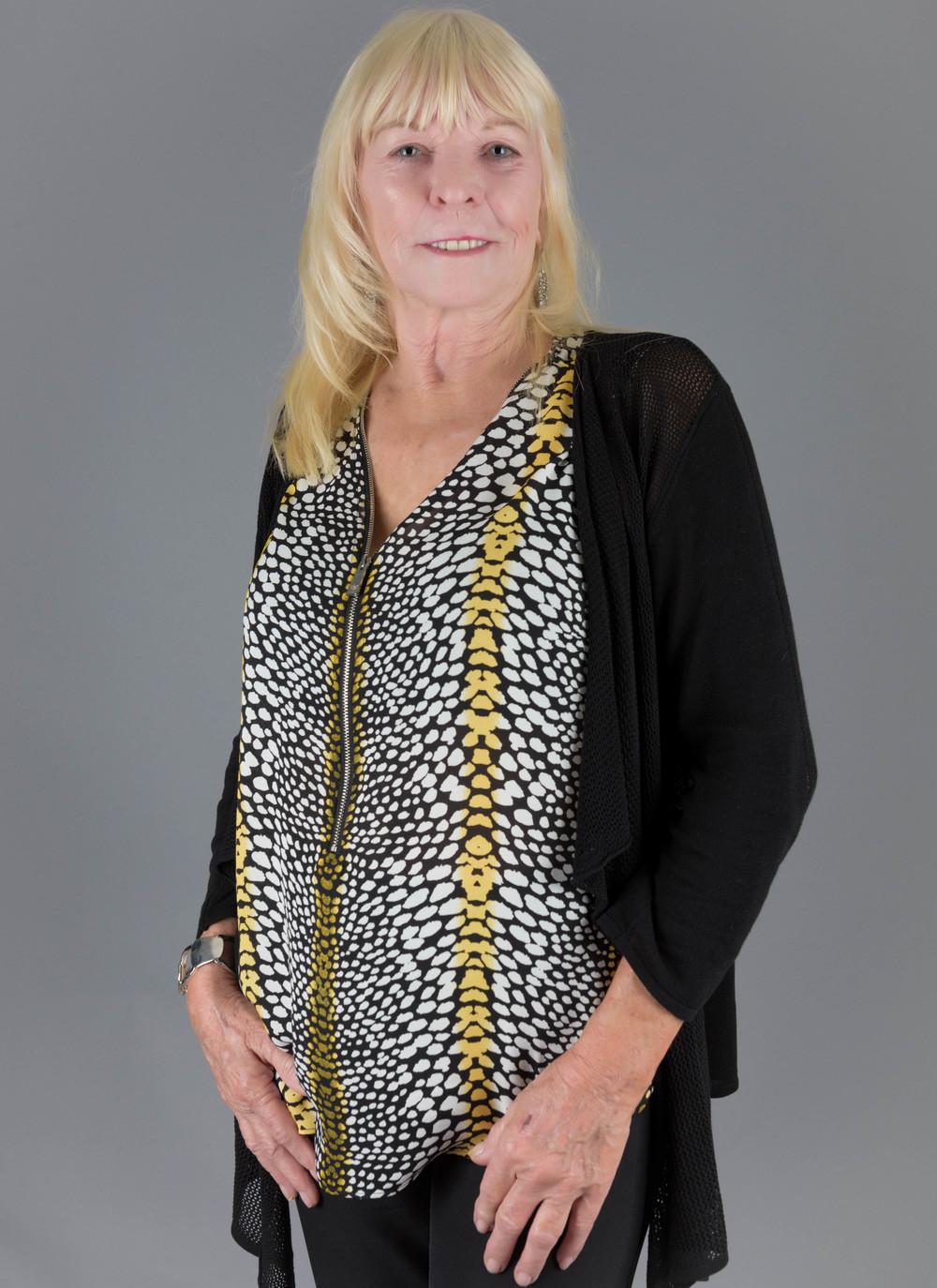 grandma studio portrait