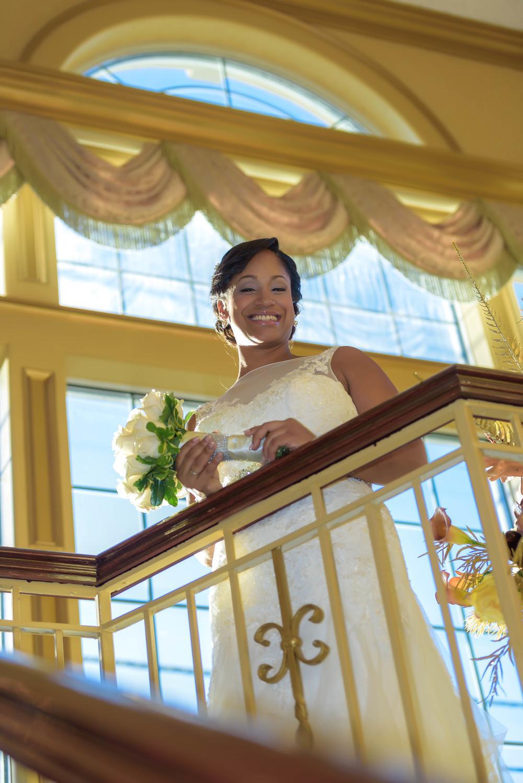 bride just married wedding