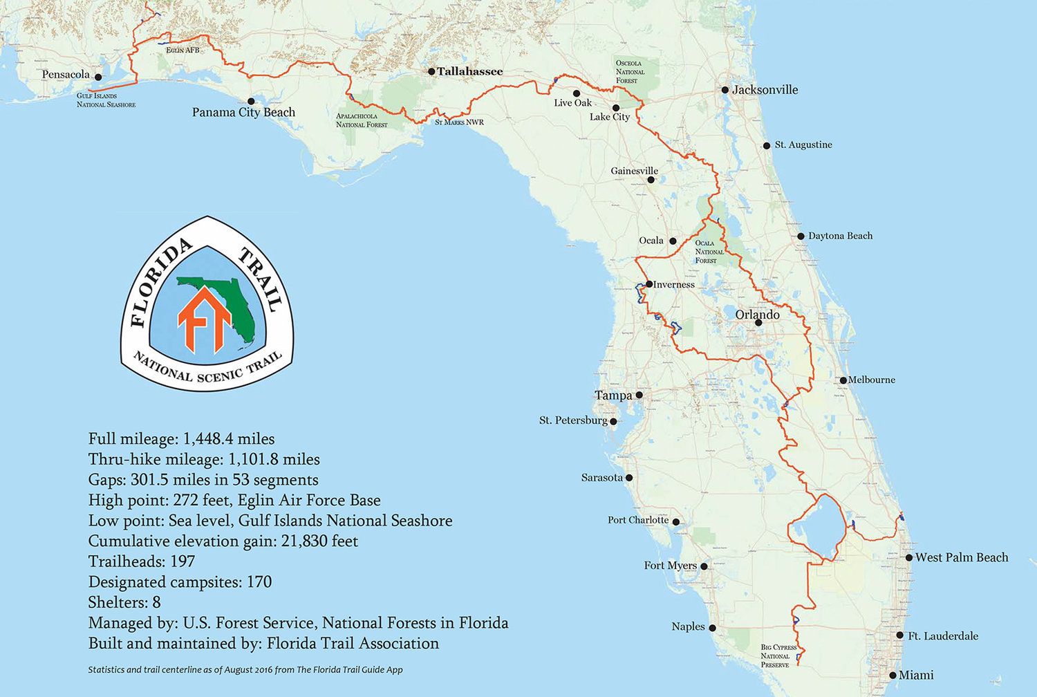 The Florida Trail Hike To Live